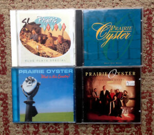 Prairie Oyster CD Music Collection
