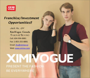 Fast Fashion Department Store Franchise/Investment Opportunities