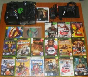 X BOX and PLAYSTATION 2 and GAMES **MAKE AN OFFER**