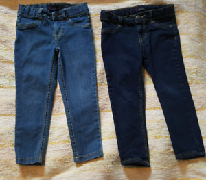 Toddler girls jeans 4t-plus