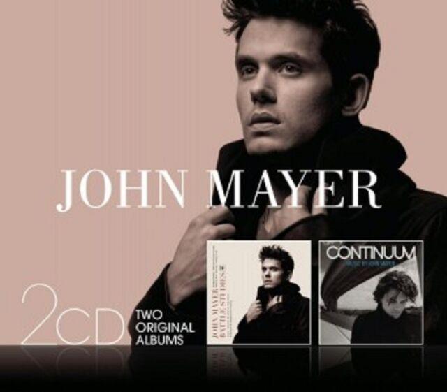 JOHN MAYER - CONTINUUM/BATTLE STUDIES 2 CD NEU