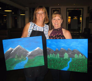HOLIDAY STAFF OR CLIENT PAINT PARTY Kawartha Lakes Peterborough Area image 4