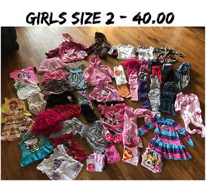 Girls size 2