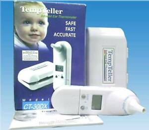 Infrared ear thermometer Temp teller CT-30DX bought $72 baby Miranda Sutherland Area Preview