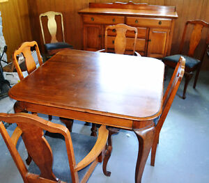 Moving Must Go! Queen Anne Style Dining Room Suite OBO