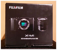 The X-M1 Camera with XC 16-50mm f/3.5-5.6 OIS Lens Kit