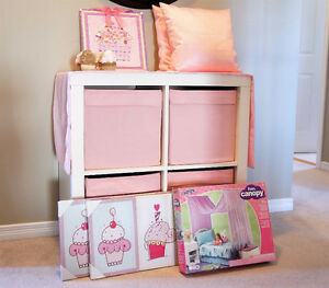 Girls Room Decor - Cupcake Theme