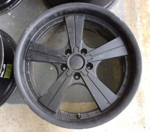 mags wheels, rims. bolt pattern 5-112, 18""