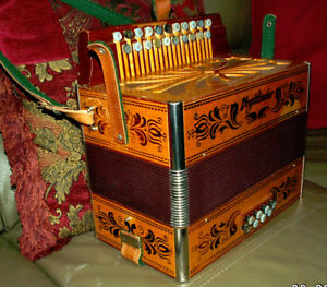 Accordion ...like Hohner Corso Key of G/C ..excellence.