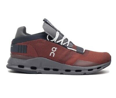 ON RUNNING CLOUDNOVA OX BLACK UK Size 8 BRAND NEW