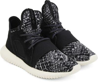 Adidas Originals Women's Tubular Defiant Trainers High Tops Sneakers Black