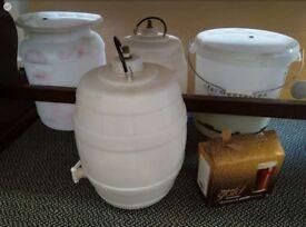 Free brewing kegs & fermentation bin