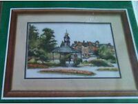 New counted cross stitch kit from the Craft collection. Kit is called Matlock.