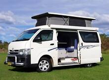 Toyota Hiace Automatic Frontline Campervan with 5 Seat & Shower Albion Park Rail Shellharbour Area Preview