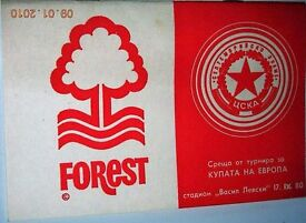FOREST EUROPEAN AWAY PROGRAMMES