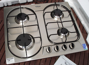 Unused Whirlpool Stainless 4 gas cooktop in box! Kensington Eastern Suburbs Preview