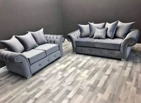 FREE DELIVERY WITH 1 YEAR WARRANTY ON DECENT BRAND NEW OLYMPIA CORNER AND 3+2 SOFA IS AVAILABLE
