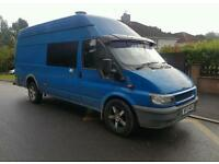 Ford transit jumbo ideal camper