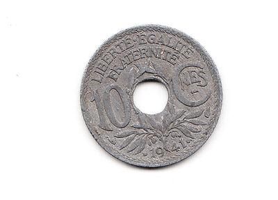 10 centimes Frankreich 1941 Zink   (1450)