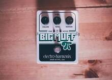 Electro-Harmonix Big Muff Pi Distortion/Sustain Pedal /w Wicker Oxley Brisbane South West Preview