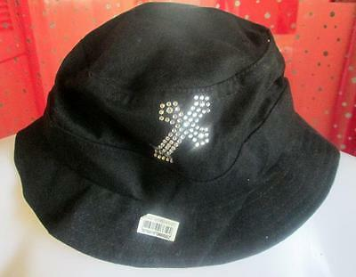 SHABBY CUSTOM DIY RHINESTONE CHRISTIAN SMALL CROSS HAT BEACH COTTON BLACK - Diy Hats