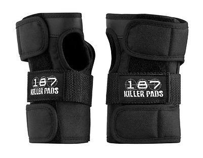 187 Killer Pads Skateboard Wrist Guards BLACK SMALL