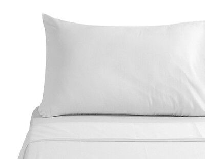 6 pack white standard 20x30 size hotel pillow cases covers t