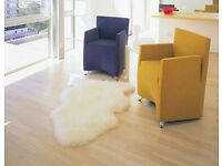 REAL SHEEPSKIN SINGLE RUG