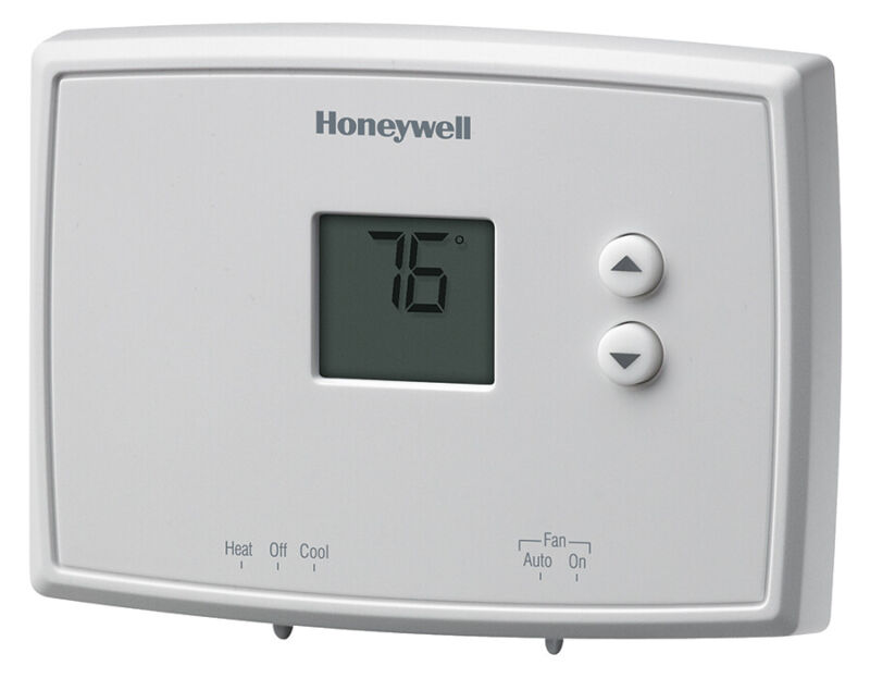 Honeywell Horizontal Digital Non-Programmable Thermostat RTH111B1024