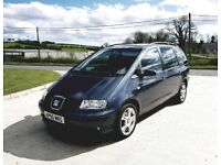 STUNNING 1.9 SEAT ALHAMBRA 7 SEATER PEOPLE CARRIER zafira piccaso galaxy espace
