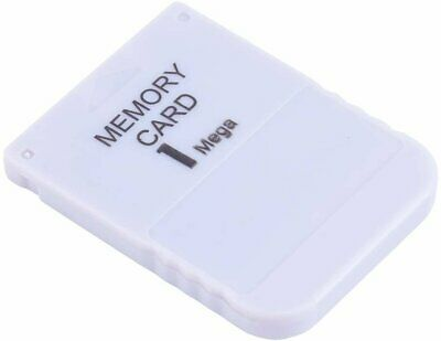 White 1 MB 1 M Memory Card For Playstation 1 One PS1 PSX US Game a System Memory Cards & Expansion Packs