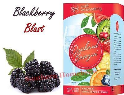 (RJ Spagnols Orchard Breezin Blackberry Blast Merlot Wine Making Kit)