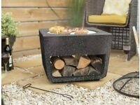 Stone effect bbq and fire pit - BRAND NEW