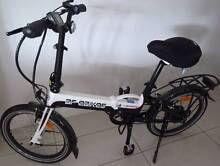 Folding electric bike for sale or trade on golf cart trailer Redcliffe Redcliffe Area Preview