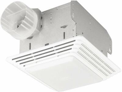 Broan Ventilation Exhaust Fan Light Combo 50 Cfm Bathroom Celing Vent Heavy -