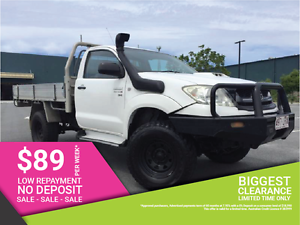 2009 Toyota Hilux Ute Lift Kit Sun Raysia wheels Mud tyres. Biggera Waters Gold Coast City Preview