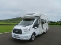2017 CHAUSSON FLASH 610 4 BERTH MOTORHOME WITH LARGE REAR GARAGE ANDERSON MOTORHOME SALES