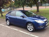 2008 Ford Focus 1.6 Style 5dr --- Blue shiny colour --- Long Mot --- alternate4 Clio Corsa Peugeot