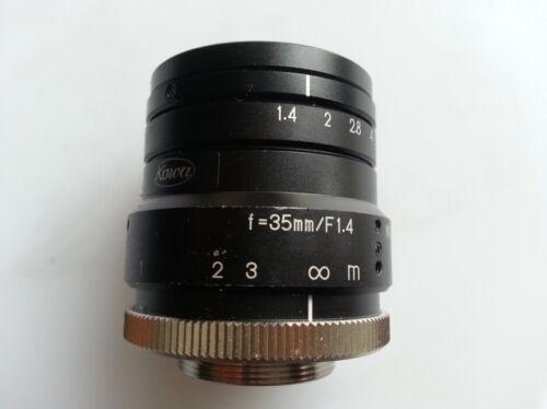 1pc USED KOWA LM35HC 35mm fixed focus 2 million like industrial camera lens