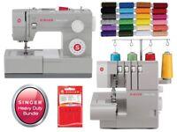 Singer Heavy Duty Sewing Machine & Overlock