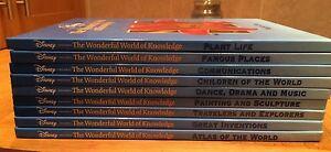 Disney Wonderful World Of Knowledge Books