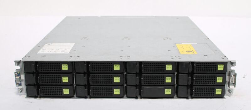 Dot Hill / HPE MSA2040 16GB FC SAN Disk Array 24TB