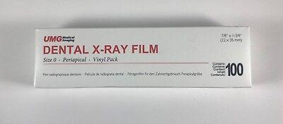 Umg Size 0 Ds-54 D Speed Dental X-ray Film 100box Vinyl Packing -fda