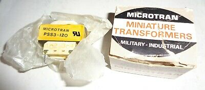 Brand New Nos 196-8629 3fs-3120 Pss3-120 Tamura Microtran 115v Transformer