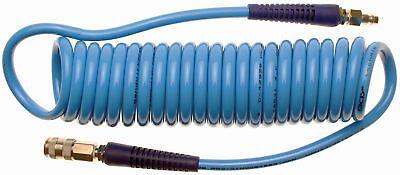 BGS 66541 Druckluft Spiralschlauch 8x12mm Druckluftschlauch 6m Pressluftschlauch