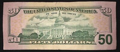 Rare Fifty Dollar Bill Star Note 2013 - 50 United States - Free Shipping  - $69.95