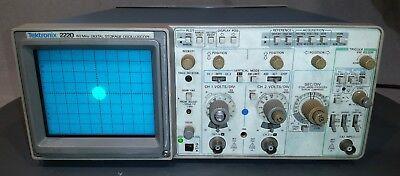 Tektronix 2220 60mhz Digital Storage Oscilloscope