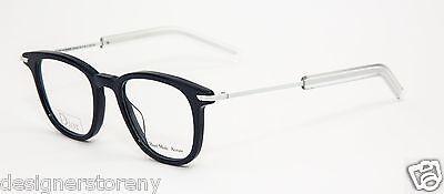 CHRISTIAN DIOR BLACKTIE 195 MZN Blue White Eyeglasses Frame Eyewear (Dior Eyewear Glasses)
