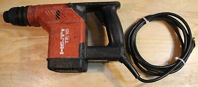 Hilti Te15 Hammer Drill With Case. Great Running Condition Everything Works