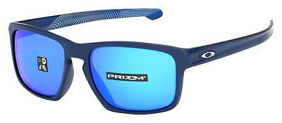 Oakley Sliver Sunglasses OO9269-1957 Matte Navy | Sapphire Iridium Aero Asia (Sunglasses Deals)